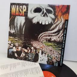 "WASP the headless children. EST2087. 12"" VINYL LP"