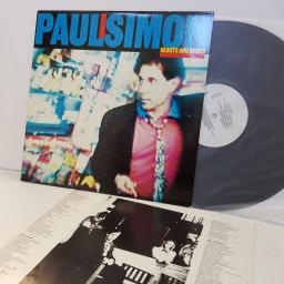 "PAUL SIMON hearts and bones. 239421. 12"" vinyl LP"
