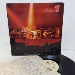 "MAN be good to yourself t least once a day. UAG29417. 12"" vinyl LP"