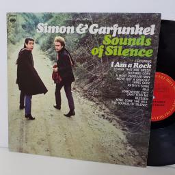 "SIMON & GARFUNKEL sounds of silence. columbia 9269. 12"" vinyl LP"