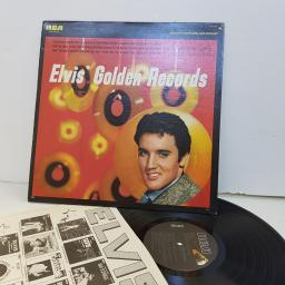 "ELVIS PRESLEY golden records AQL11707. 12"" vinyl LP"