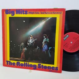 "THE ROLLING STONES big hits high tide and green grass. 62502. 12"" vinyl LP"