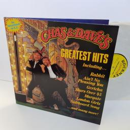 CHAS & DAVE'S greatest hits including Rabbit, gertcha, London Girls. ROC913. VNYL LP