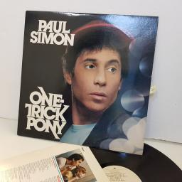 "PAUL SIMON one trick pony. HS3472 12"" vinyl LP"