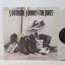 "SOUTH SIDE JOHNNY & THE DUKES at least we got shoes. PL71049. 12"" vinyl LP."