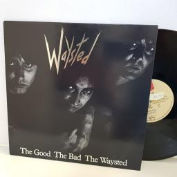 "WAYSTED vices CHR1438. 12"" vinyl LP"