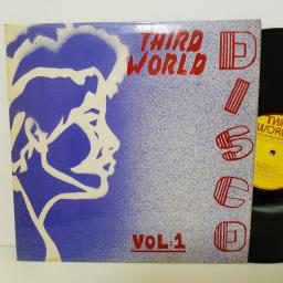 "THIRD WORLD DISCO VOL 1 . FEATURING Leroy Smart, Agrovators, U-Brown, Horace Andy. TWLP204. 12"" vinyl LP"