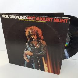 "NEIL DIAMOND hot August night . MCSP255. 2 X 12"" vinyl LP"