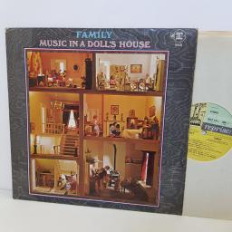 "FAMILY music in a doll's house. RSLP6312. 12"" vinyl LP"