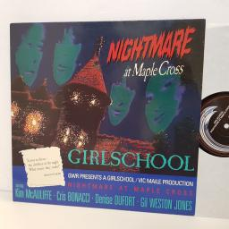 "GIRLSCHOOL nightmare at maple cross. GWLP2. 12"" vinyl LP"
