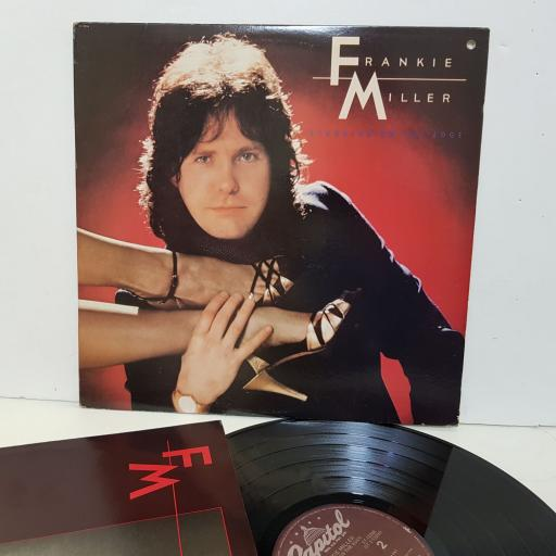 "FRANKIE MILLER standing on the edge ST12206. 12"" vinyl LP"