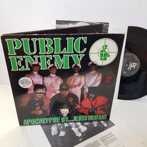 "PUBLIC ENEMY apocalypse 91...the enemy strikes back. 4687511. 2 x 12"" vinyl LP"