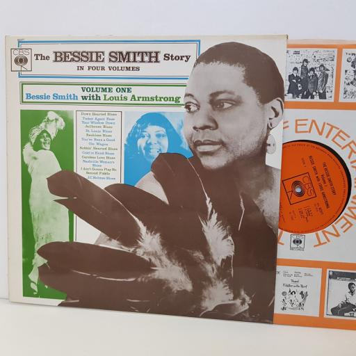 """BESSIE SMITH story in four volumes. VOLUME ONE WITH LOUIS ARMSTRONG. MONO CBS62377. 12""""vinyl LP"""