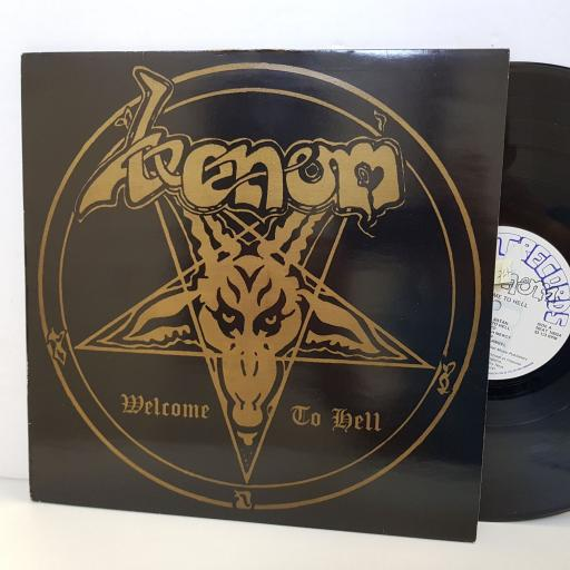 "VENOM welcome to hell NEAT1002LP. 12"" vinyl LP"