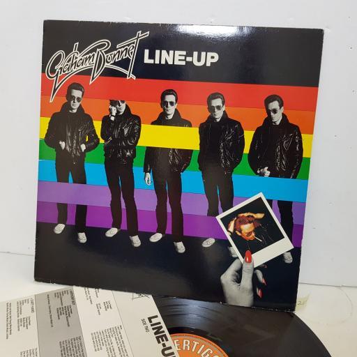 """GRAHAM BONNET line -up. 63002151. 12"""" vinyl LP"""
