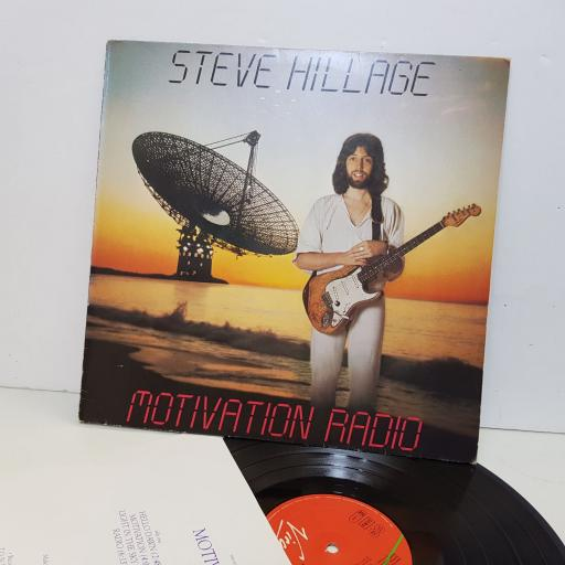 "STEVE HILLAGE motivation radio. 25468xot. 12"" vinyl LP"