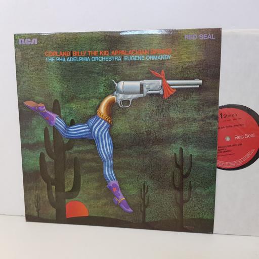 "COPELAND Billy the Kid, Appalachian spring. Eugene Ormandy LSB4018. 12"" vinyl LP"
