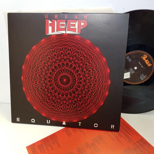 "URIAH HEEP equator PRT26414. 12"" vinyl LP"