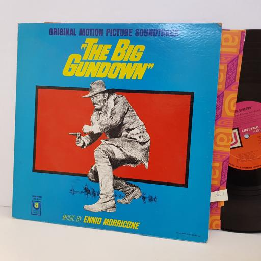 ENNIO MORRICONE The Big Gundown original motion picture soundtrack UAS5190. VINYL LP