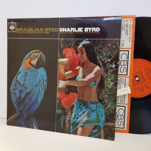 CHARLIE BYRD Brazilian Byrd. Music of Antonio Carlos Jobim. CBS62836. VINYL LP