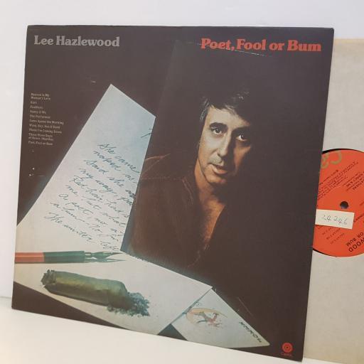 """LEE HAZLEWOOD poet fool or bum. ST11171. 12"""" vinyl LP"""