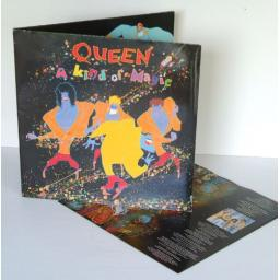 QUEEN a kind of magic. Uk press 1986, on EMI records