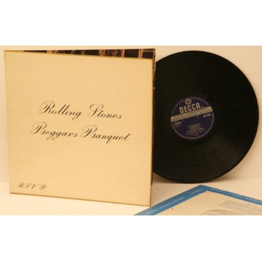 THE ROLLING STONES, beggars banquet.SKL4955. Rare. Unboxed stereo.