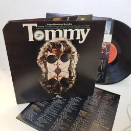 "TOMMY THE MOVIE, ORIGINAL SOUNDTRACK RECORDING. Featuring Eric Clapton, Elton John, The Who, Jack Nicholson etc . PD29502. 12"" vinyl LP"