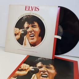 "ELVIS PRESLEY a legendary performer the early years. CPL10341. 12"" vinyl LP"