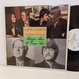 "HARVEY ANDREWS GRAHAM COOPER fantasies from a corner seat TRA298 12"" vinyl LP. Signed copy."