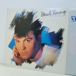 "PAUL YOUNG no parlez 7464389761. 12"" vinyl LP"