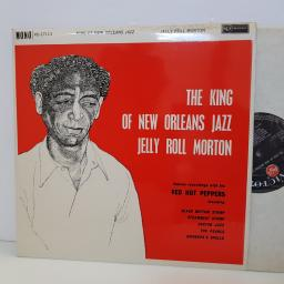 JELLY ROLL MORTON The king of new orleans jazz, famous recordings with his RED HOT PEPPERS. RD27113. VINYL LP.