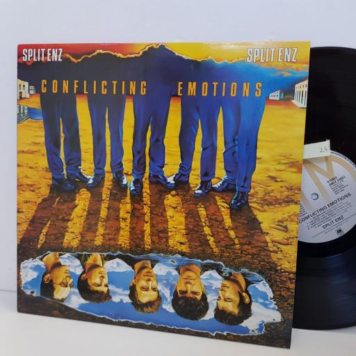 SPLIT ENZ conflicting emotions. AMLX64963. VINYL LP