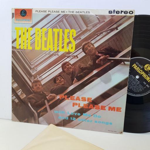 """THE BEATLES Please Please Me PCS 3042. STEREO. 12"""" vinyl LP."""