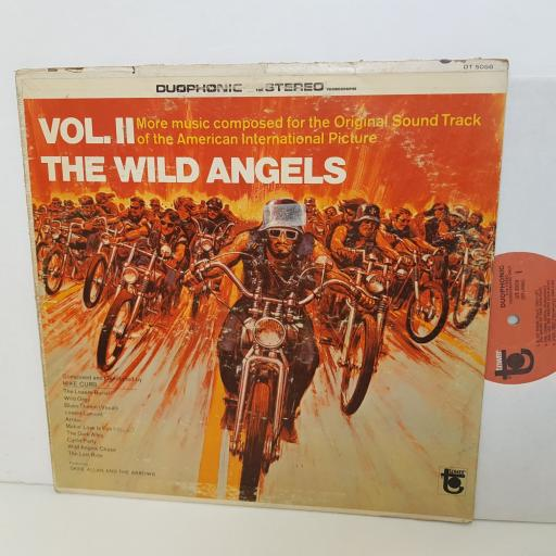 """THE WILD ANGELS VOL.2 more music composed for the original sound track. DT5056. 12"""" vinyl LP"""