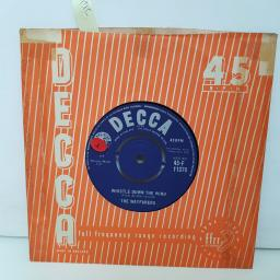 """THE WAYFARERS whistle down the wind. think of a stranger.7"""" vinyl F11370"""