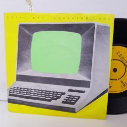 """KRAFTWERK computer love. the model. 7"""" vinyl. EMI5207"""