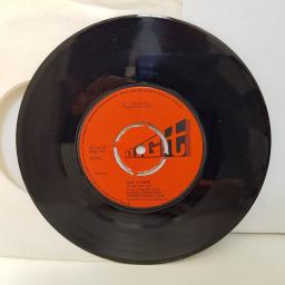 """THE JOHNSTONS give a damn. walking out on foggy mornings. 7"""" vinyl BIG116"""