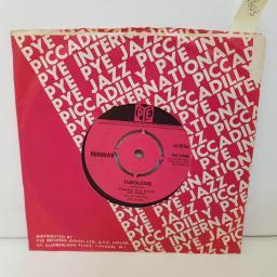 "DONOVAN turquoise. hey gyp. 7"" vinyl 7N15984"