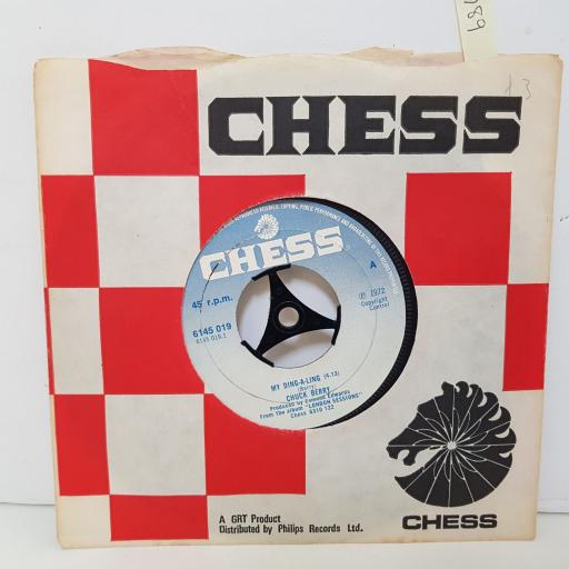 CHUCK BERRY My ding a ling. Let's boogie. 7 inch vinyl. 6145019
