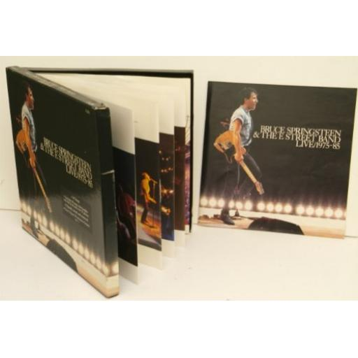 BRUCE SPRINGSTEEN and THE E STREET BAND live 1975-85. 4502271. 5 LP box set 1986.