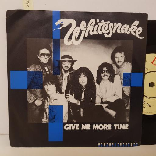 WHITESNAKE give me more time. Need your love so bad. 7 inch vinyl. BP422