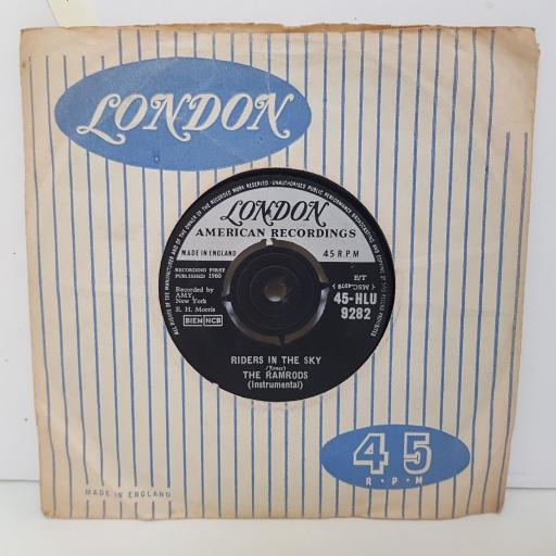 THE RAMRODS z ig zag. Riders in the sky. 7 inch vinyl. 45HLU9282
