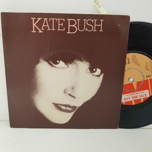"""KATE BUSH wow. full house. 7"""" VINYL. EMI2911"""