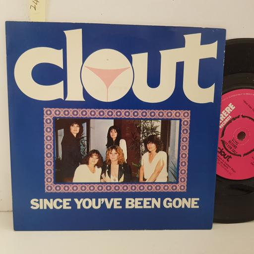 CLOUT since you've been gone. don't stop. 7 inch vinyl. CAR101
