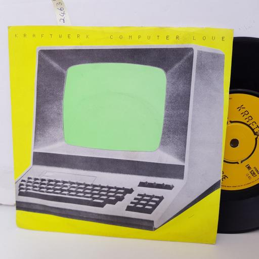 "KRAFTWERK computer love. the model. 7"" vinyl. EMI5207"