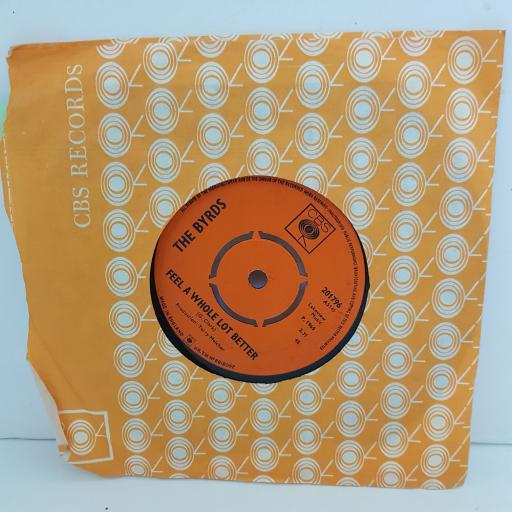 """THE BYRDS all I really want to do. fell a whole lot better. 7"""" VINYL. cbs201796"""