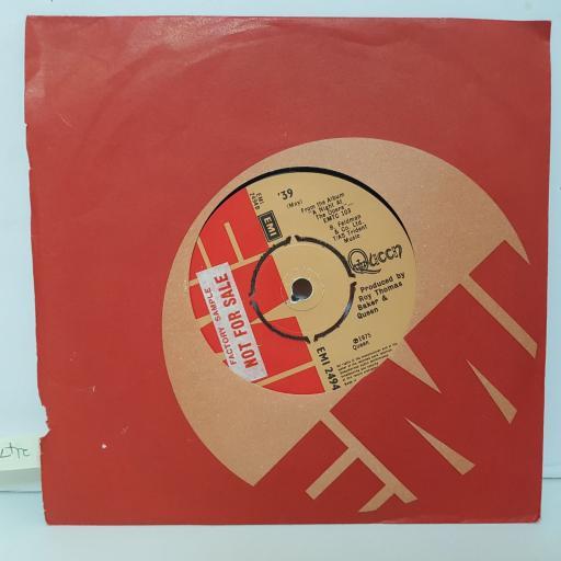QUEEN. You're my best friend. '39. 7 inch vinyl. EMI2494.