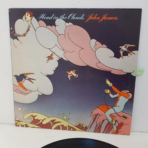 "JOHN JAMES head in the clouds. 12"" vinyl LP TRA305"