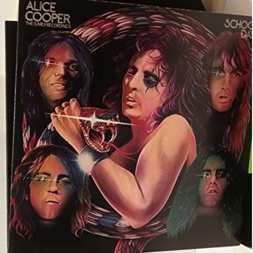 ALICE COOPER school days, the early recordings, gatefold, double album, K 66021